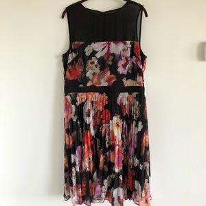Maggy London floral print dress